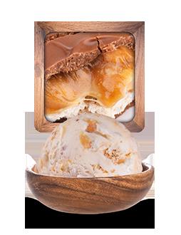 Barre caramel cacahuète